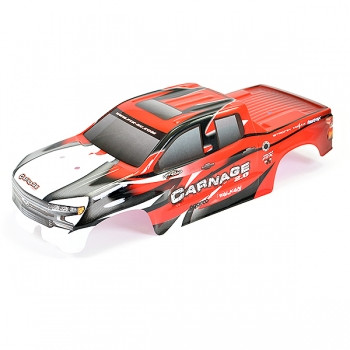 FTX CARNAGE 2.0 RED PRINTED BODYSHELL