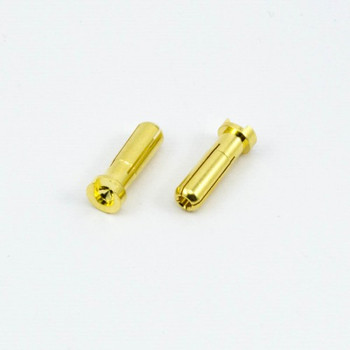 Ultimate 5.0MM BULLET CONNECTOR MALE (2PCS)