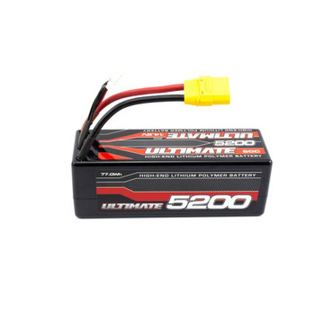 ULTIMATE 14.8V. 5200mah  60C LiPo Battery  (XT90 Connector)