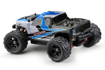 Absima Storm 1/18 Scale 4WD Monster Truck (Blue)