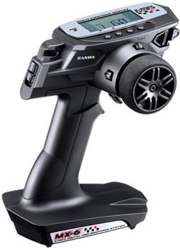 Sanwa MX-6 Radio Set + RX391W (Waterproof receiver)