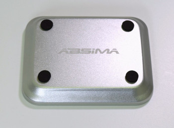 Absima Aluminum Bowl with Magnet Plate Silver