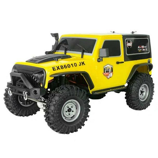 Rock Cruiser 4X4 RTR 1:10 Waterproof Crawler Yellow