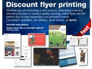 Discount Flyer Printing
