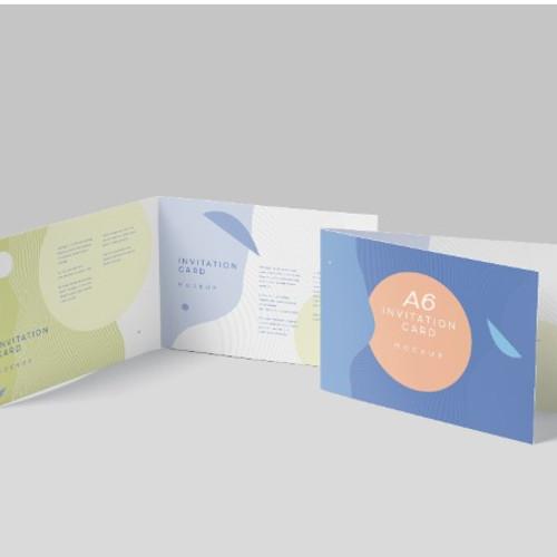 A6 Folded Cards