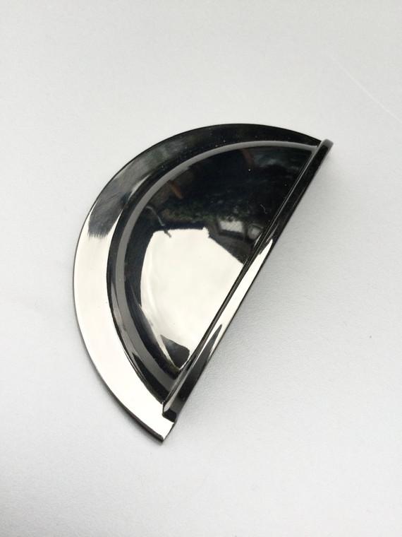 Black Nickel cup Handle for Bedroom or Kitchen cupboards