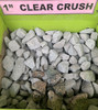 "1 Yard of 1"" Clear Crush"