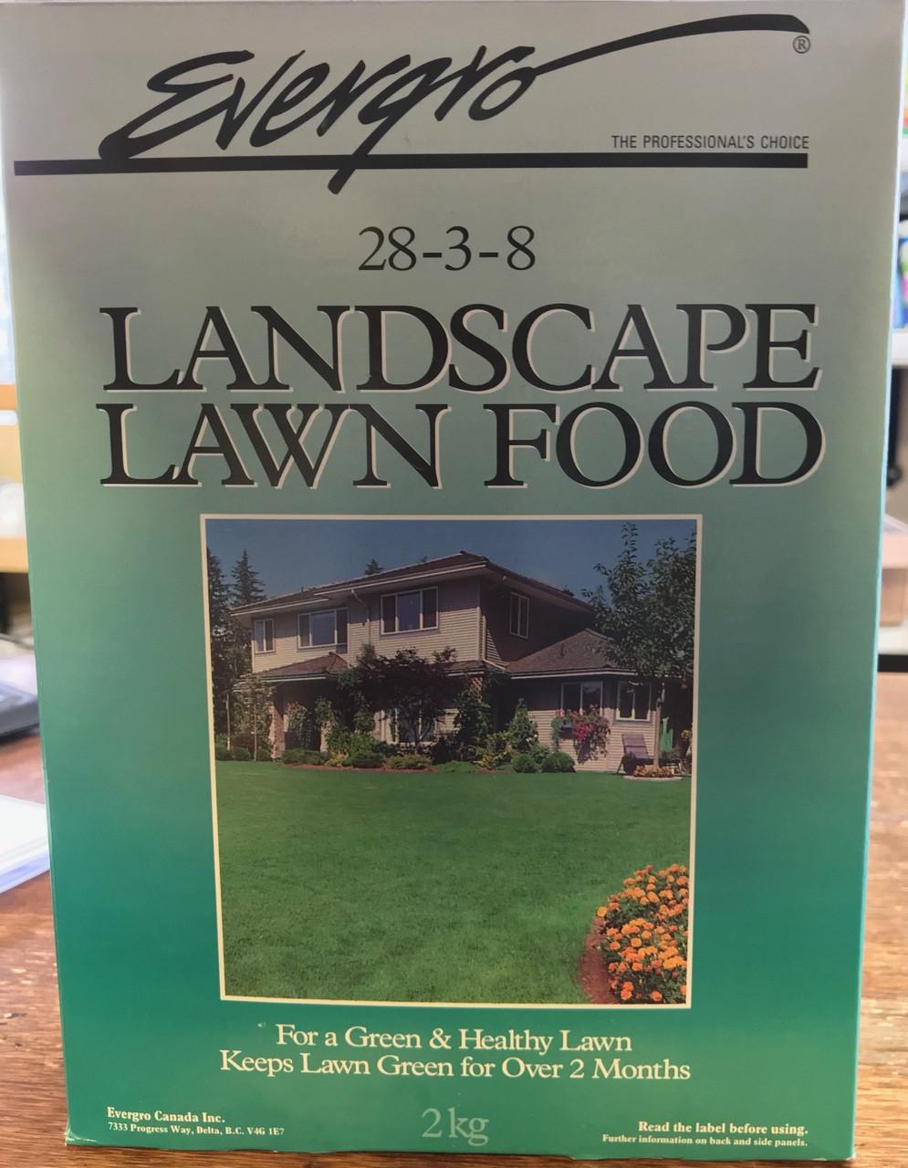 Landscape Lawn Food 2 kg.