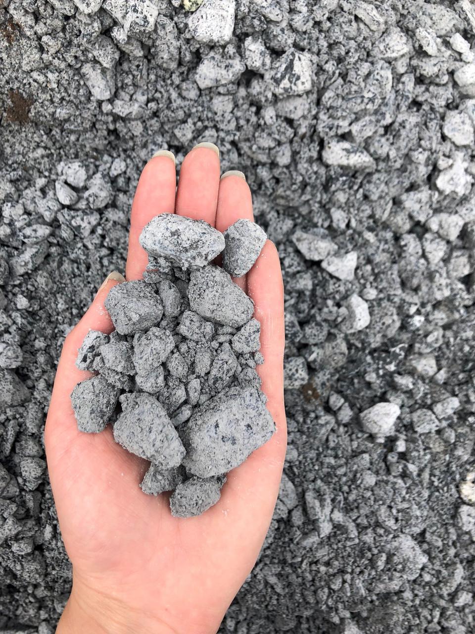 1 Yard of Limestone base