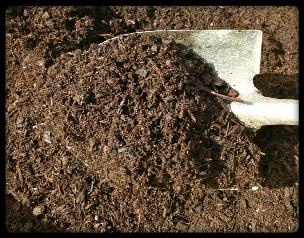 Bark Mulch, composted,