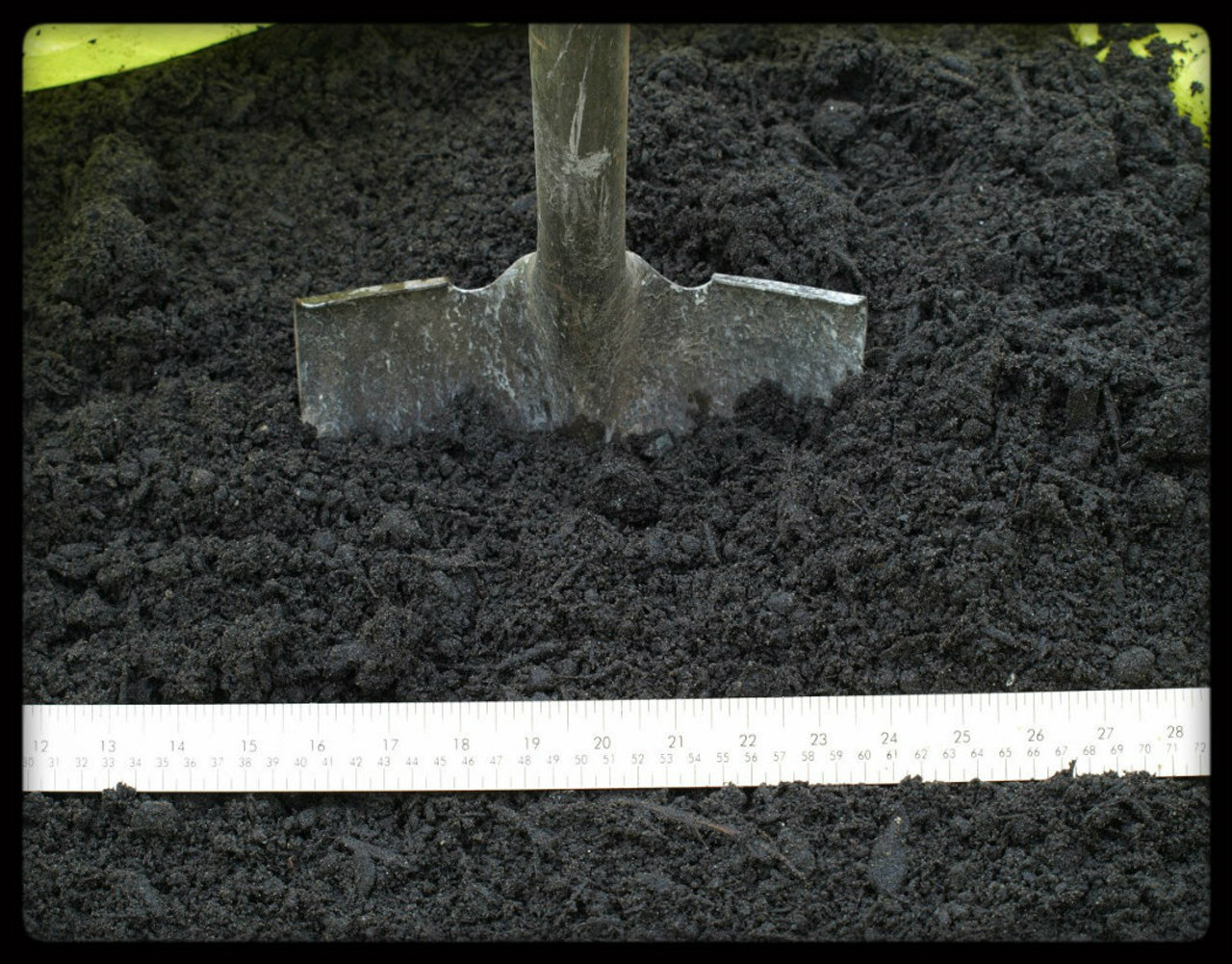 Botanical Blend Topsoil, scale view