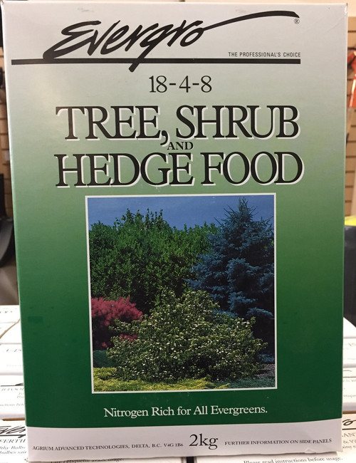 Tree, Shrub and Hedge Food 2 kg.