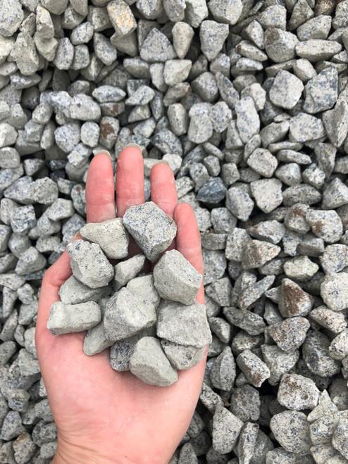 3/4 inch Clear Crush rock