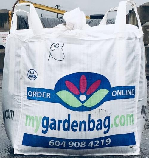 1/2 yard bag of Washed sand
