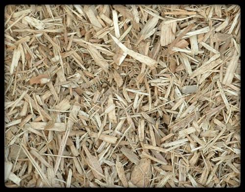 Playground woodchips