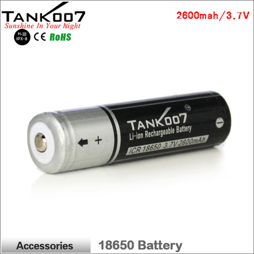 TANK007 18650 Li-ion  battery