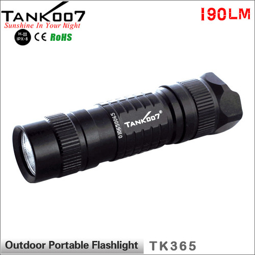 TANK007 TK365 Cree  R5 led flashlight EDC mini torch Pen light flashlight  powered by CR1230/16340 battery