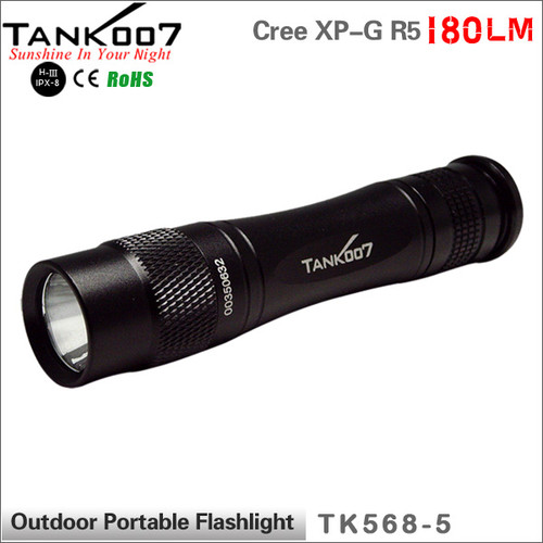 TANK007 TK568 five modes flashlight USA Cree R5 LED torch flashlight