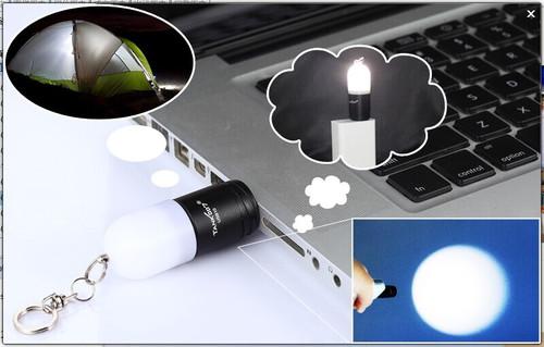 2015 TANK007 mini gift USB led flashlight torch USB10