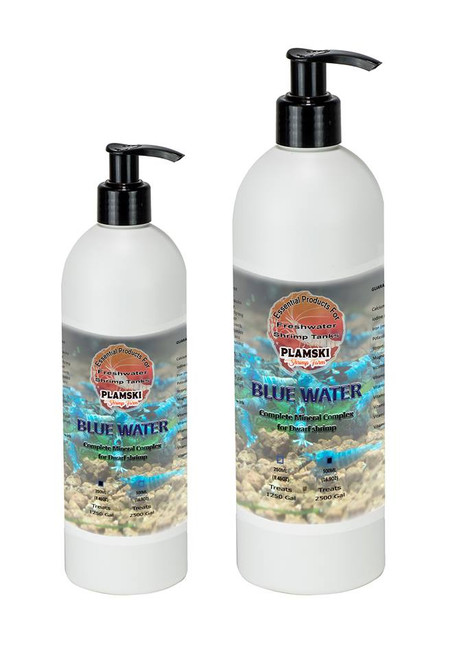 Blue Water is the best liquid nutritional source for your dwarf shrimp, makes them stronger, healthier and beautiful!