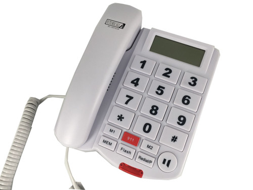 Future Call Amplified 40dB Big Button Phone with Caller ID and Speakerphone