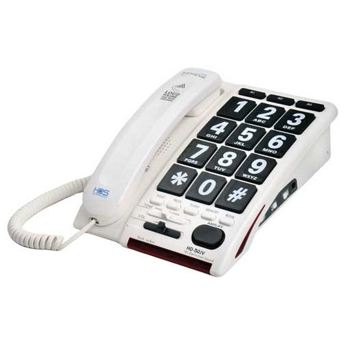 Serene Innovations HD-50JV 40dB Jumbo Key Amplified Phone