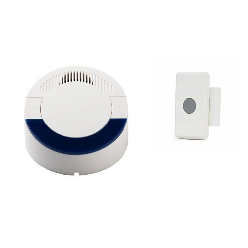 Long Range 4000 ft Wireless Loud Doorbell System