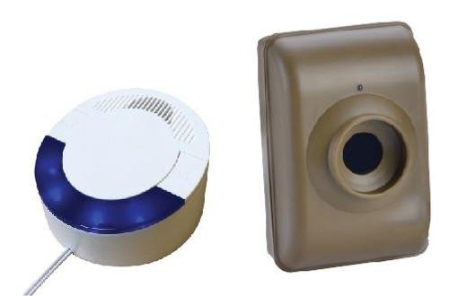 Long Range 4000 ft Motion Sensor with Loud Audio Receiver
