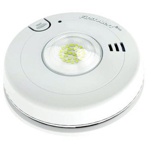 BRK Electronics 7020BSL Photoelectric T3 Smoke Alarm with LED Strobe and 10-Year Battery Back-up