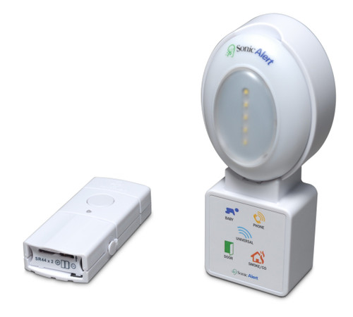 Sonic Alert HomeAware Doorbell / Pager with Blink LED Receiver
