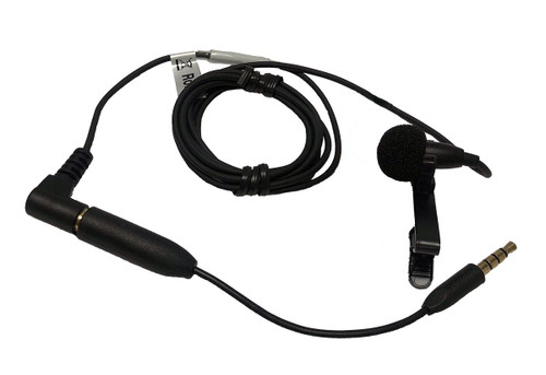 Williams Sound MIC 190 Mini Lapel Omnidirectional Microphone