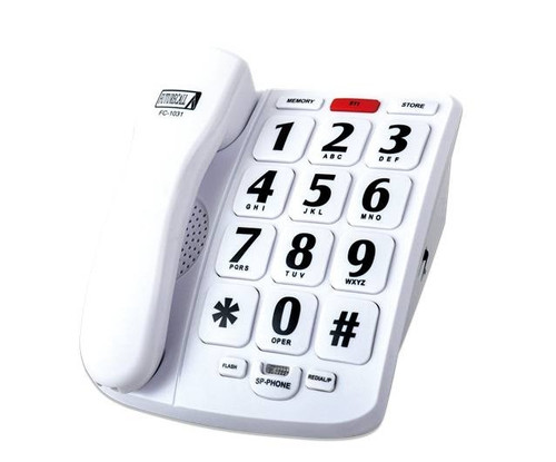 Future Call 40dB Amplified Big Button Speakerphone