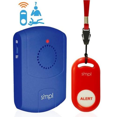 SOS Help Pendant Vibrating Audio Alert Paging System