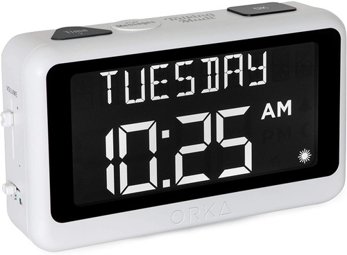 Loud Talking Reminder Alarm Clock