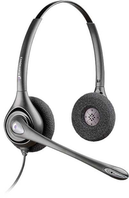 Plantronics_H261N_Supra_Binaural_Headset_w/Mic._for_Office_Phones