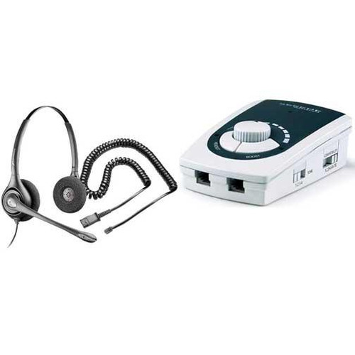 Serene Innovations UA-50 Business Binaural Headset Amplifier