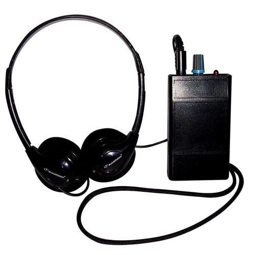 Oval Window HLR III Induction Loop Receiver w/Headphones