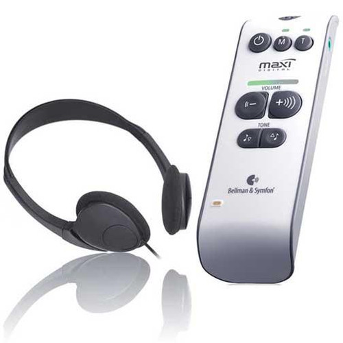 Maxi Digital Personal Amplifier w/Stereo Headphone