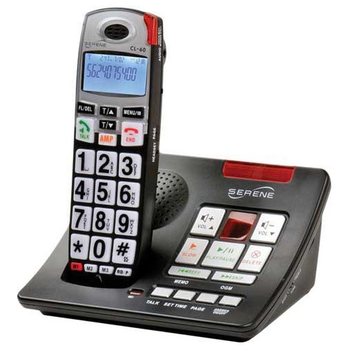 Serene_Innovations_CL-60A_Amplified_50dB_Cordless_Phone_w/Answering_Machine