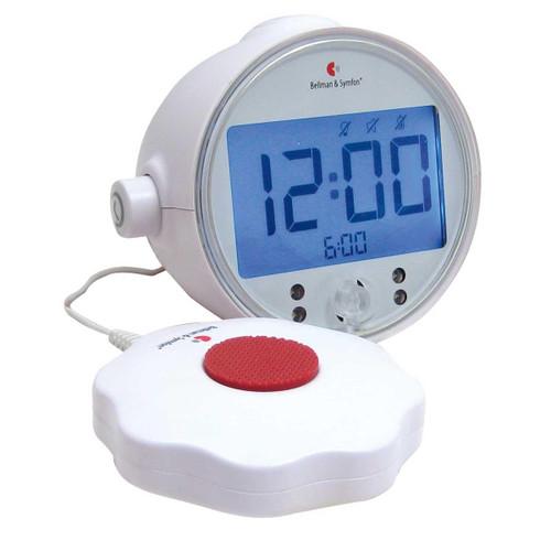 Alarm Clock Pro with LED Flashing Lights