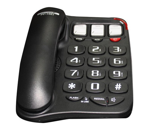 Future Call 3-Picture Amplified Phone w/Speakerphone