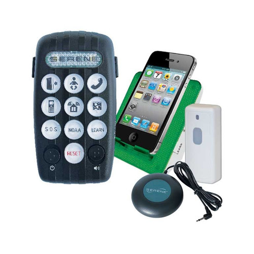 CentralAlert CA-380 Audio Visual Door/Phone Notification System