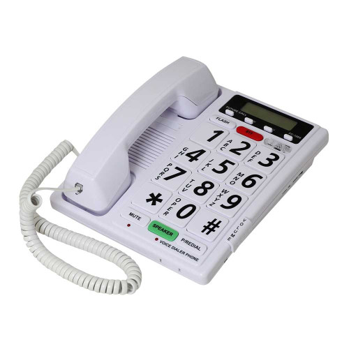 Future Call FC-1204 Amplified 40dB Voice Activated Phone