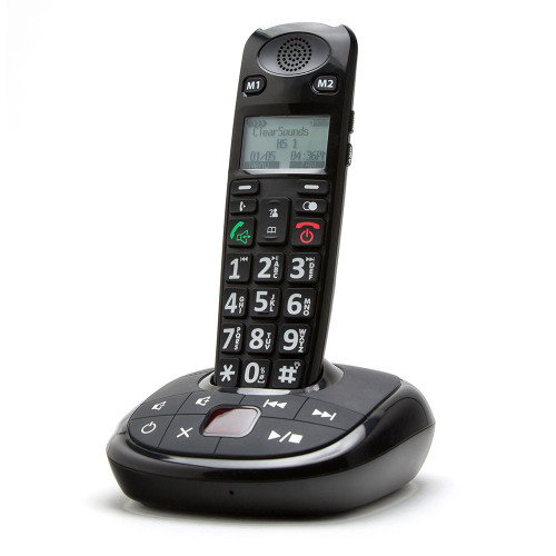 ClearSounds A700 Cordless Amplified Phone Answering Machine
