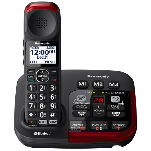Panasonic Link2Cell Amplified 40dB Bluetooth Phone