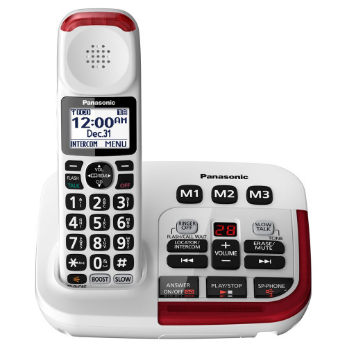 Panasonic KX-TGM420W Amplified 40dB Cordless Phone