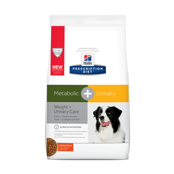 Hills Metabolic + Urinary Care Chicken Flavor Dry Dog Food (8.5 lb)