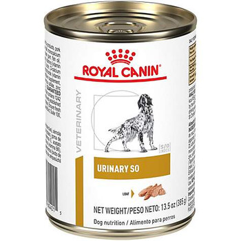 Royal Canin Veterinary Diet Urinary SO Canned Dog Food (24/13.6 oz Cans)