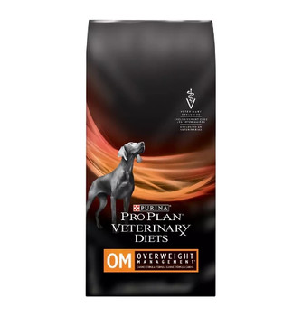 Purina Pro Plan Veterinary Diets OM Overweight Management Dry Dog Food (18 lb)