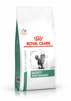 Royal Canin Veterinary Diet Satiety Support Dry Cat Food (7.7 lb) (New Packaging)